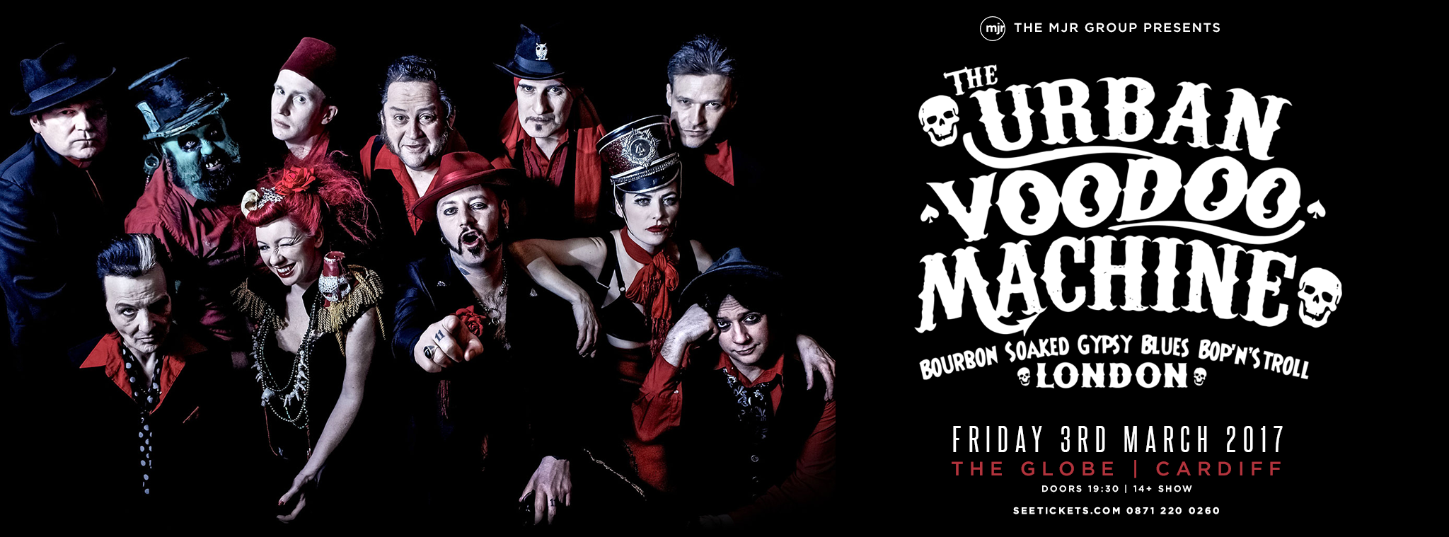 Harmonicas For Sale >> THE URBAN VOODOO MACHINE - The Globe Cardiff : The Globe ...