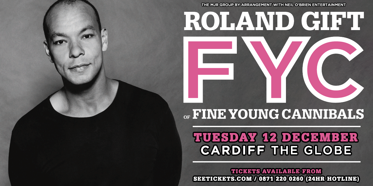 Roland gift and the fine young cannibals the globe cardiff the roland gift and the fine young cannibals negle Image collections